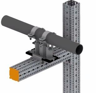 wizualizacja przykładowej konstrukcji punktu ślizgowego
