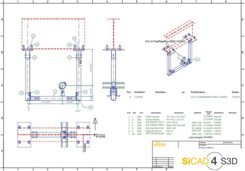 SiCAD 4 S3D